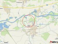 Lokalita pozemku, zdroj mapy.cz (Prodej pozemku 24549 m², Starý Kolín)
