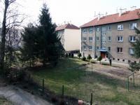 pohled z lodžie (Prodej bytu 3+1 v osobním vlastnictví 88 m², Poděbrady)
