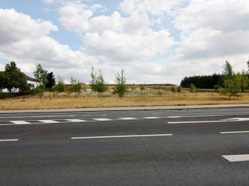 pohled ze silnice Ovčárecká - Prodej pozemku 9068 m², Kolín
