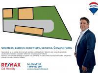 Orientační umístění budov - Pronájem komerčního objektu 795 m², Červené Pečky