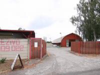 Vjezd do areálu - Pronájem komerčního objektu 795 m², Červené Pečky