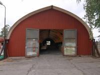 Vrata šíře 3 m - Pronájem komerčního objektu 795 m², Červené Pečky