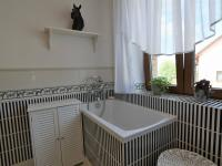 koupelna v přízemí u technické místnosti - Pronájem domu v osobním vlastnictví 300 m², Jesenice