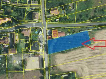 zdroj mapy cuzk.cz - Prodej pozemku 2093 m², Říčany