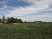 výhled z pozemku - Prodej pozemku 2093 m², Říčany