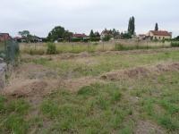 pohled na pozemek (Prodej pozemku 1020 m², Pečky)