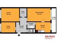 Prodej bytu 3+1 v osobním vlastnictví 72 m², Praha 6 - Suchdol