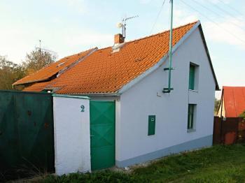Pohled na dům - Prodej domu v osobním vlastnictví 34 m², Svojšice