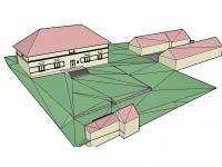 stavení na pozemku - Prodej domu v osobním vlastnictví 214 m², Svojšice