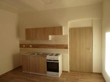 kuchyň - Prodej bytu 2+1 v osobním vlastnictví 55 m², Plaňany