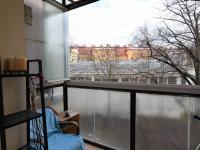 balkon, 4 m2 - Prodej bytu 2+kk v družstevním vlastnictví 55 m², Praha 9 - Vysočany