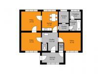 Orientační plánek - Prodej domu v osobním vlastnictví 125 m², Křečhoř