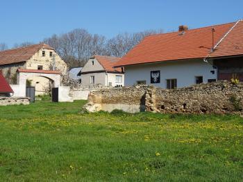 Pohled ze dvora - Prodej domu v osobním vlastnictví 698 m², Miskovice
