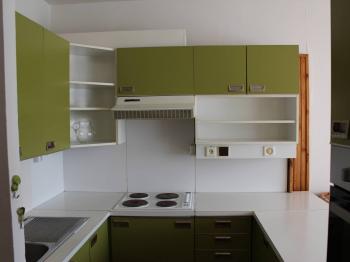 Kuchyňská linka tvaru U - Prodej bytu 2+kk v osobním vlastnictví 47 m², Praha 3 - Žižkov