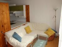 Obývací část pokoje - Prodej bytu 2+kk v osobním vlastnictví 47 m², Praha 3 - Žižkov