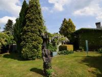 zahrada v zadní částí domu - Prodej domu v osobním vlastnictví 105 m², Louňovice