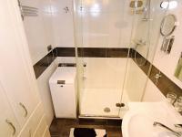 koupelna, 3,2 m2 - Prodej bytu 4+1 v osobním vlastnictví 83 m², Praha 4 - Kamýk