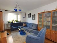 obývací pokoj, 20,6 m2 - Prodej bytu 4+1 v osobním vlastnictví 83 m², Praha 4 - Kamýk