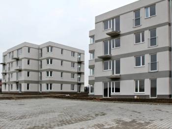 pohled na dům - Pronájem bytu 2+kk v osobním vlastnictví 55 m², Cerhenice