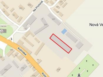 Umístění skladu, zdroj mapy.cz - Pronájem komerčního objektu 1062 m², Nová Ves I