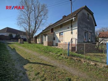 pohled na dům - Prodej chaty / chalupy 90 m², Zbýšov