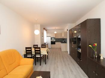 obývací pokoj s kuchyní - Prodej bytu 3+kk v osobním vlastnictví 73 m², Čáslav
