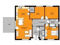 Plánek domu - Prodej domu v osobním vlastnictví 115 m², Cerhenice