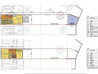Půdorys (Prodej domu v osobním vlastnictví 123 m², Praha 10 - Horní Měcholupy)