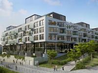 Rezidenční komplex (Prodej obchodních prostor 155 m², Praha 5 - Smíchov)
