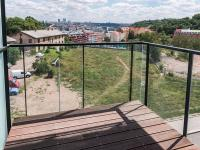 balkon (Prodej bytu 5+kk v osobním vlastnictví 169 m², Praha 5 - Smíchov)