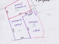 Prodej pozemku 3751 m², Okrouhlo