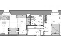 Prodej bytu 2+kk v osobním vlastnictví 43 m², Rokytnice nad Jizerou