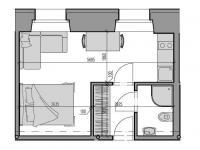 Prodej bytu 2+kk v osobním vlastnictví 51 m², Rokytnice nad Jizerou
