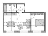 Prodej bytu 2+kk v osobním vlastnictví, 38 m2, Rokytnice nad Jizerou