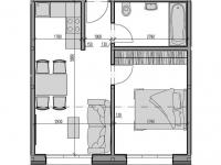 Prodej bytu 2+kk v osobním vlastnictví 45 m², Rokytnice nad Jizerou