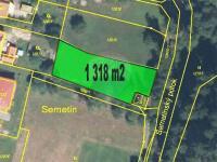Prodej pozemku 1318 m², Vsetín