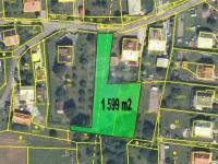 Prodej pozemku 1599 m², Vsetín