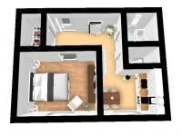 Prodej bytu 1+1 v družstevním vlastnictví 40 m², Rožnov pod Radhoštěm