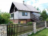 Pohled na dům z příjezdové cesty (Prodej domu v osobním vlastnictví 250 m², Řepiště)
