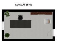 Pronájem kancelářských prostor 10 m², Rožnov pod Radhoštěm