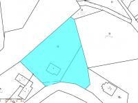 Katastrální mapa (Prodej chaty / chalupy 160 m², Trojanovice)