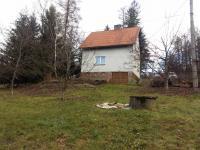 Pohled na dům ze zahrady (Prodej chaty / chalupy 160 m², Trojanovice)