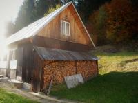 Dřevník, dílna, obytná část (Prodej chaty / chalupy 134 m², Staré Hamry)