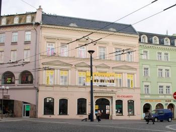 Dům v centru města - Prodej komerčního objektu 1228 m², Opava