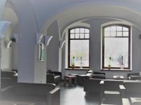 Bar v přízemí - Prodej komerčního objektu 1228 m², Opava