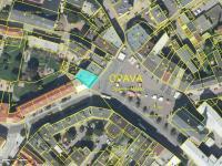 Letecký pohled - Prodej komerčního objektu 1228 m², Opava