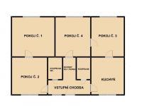 1. podlaží (Prodej domu v osobním vlastnictví 500 m², Halenkov)