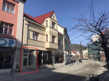 Pronájem obchodních prostor 100 m², Valašské Meziříčí