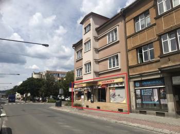 Pronájem obchodních prostor 130 m², Vsetín