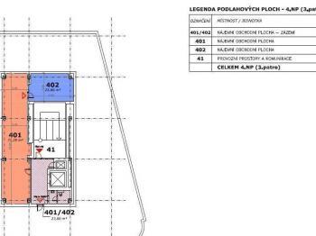 Pronájem kancelářských prostor 160 m², Rožnov pod Radhoštěm